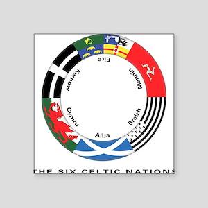 Celtic Nations Square Sticker