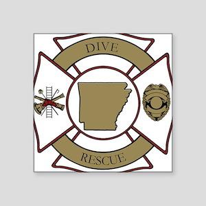 Arkansas Dive Rescue Square Sticker