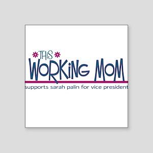 Homeschool Mom for Sarah Pali Square Sticker