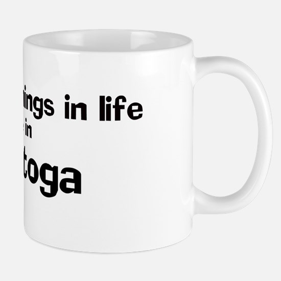 Calistoga: Best Things Mug