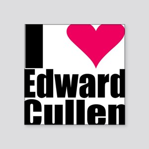 I LOVE EDWARD CULLEN Square Sticker