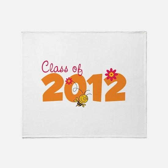 Class of 2012 Throw Blanket
