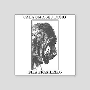 Fila Brasileiro Square Sticker