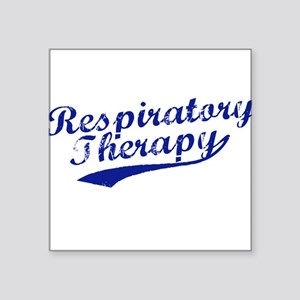 Respiratory Therapy Square Sticker