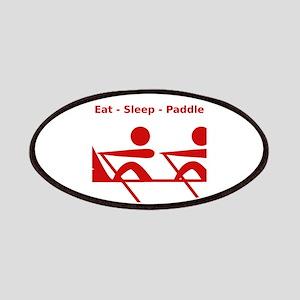 Eat - Sleep - Paddle Patches