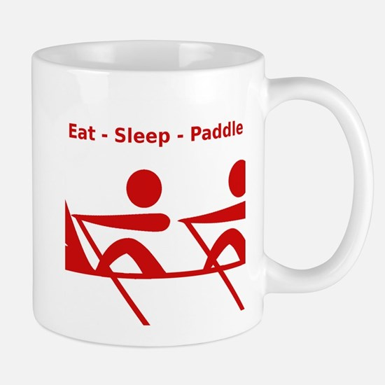Eat - Sleep - Paddle Mug