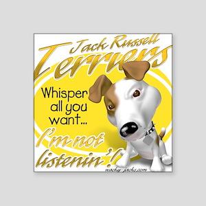 Jack Whisperer Square Sticker