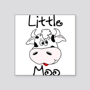 Little Moo Square Sticker