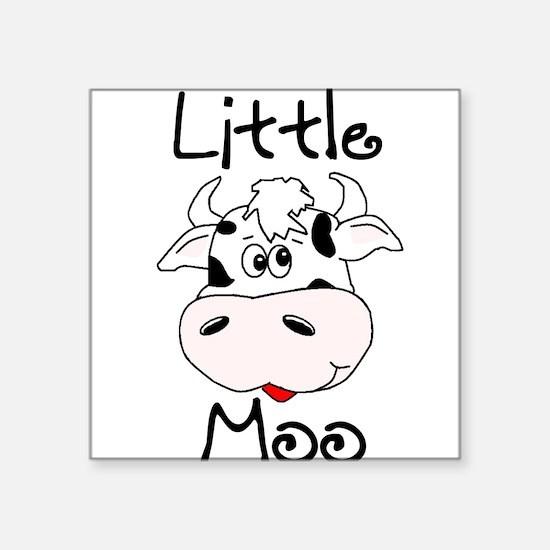 Little Moo Square Sticker