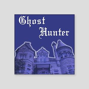 Haunted Mansion Ghost Hunter Square Sticker
