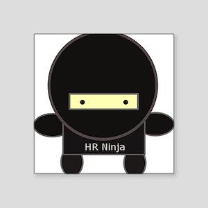 HR Ninja Square Sticker