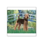 Bridge - Airedale #6 Square Sticker 3