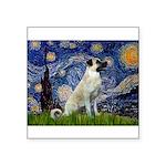 Starry-AnatolianShep 2 Square Sticker 3
