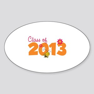 Class of 2013 Sticker (Oval)