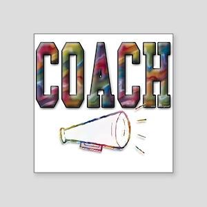 Coach in Color Square Sticker