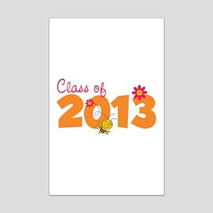 Class of 2013 Mini Poster Print