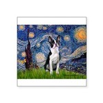 Starry Night Boston (#2) Square Sticker 3