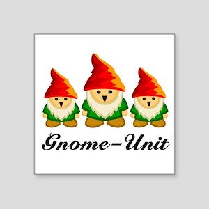 Gnome Unit Square Sticker
