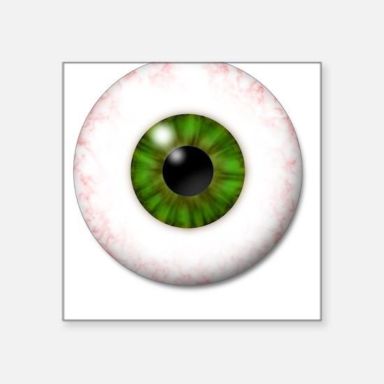 Eyeball Square Sticker