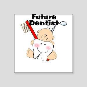 Future Dentist Square Sticker