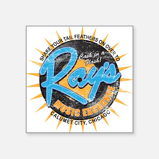 Ray's Music Exchange Square Sticker