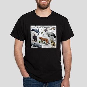 Endangered Species of North America Dark T-Shirt