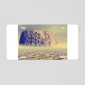 stone Aluminum License Plate