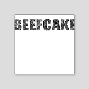 BEEFCAKE Square Sticker