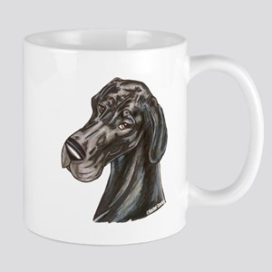 N Blk Soft Smile Mug