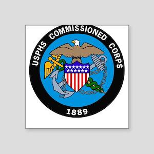 USPHS <BR>Square Sticker 14