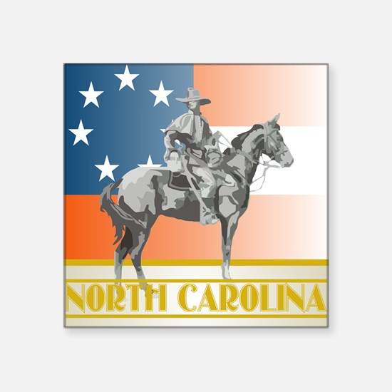 NC Sentry Square Sticker