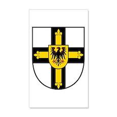 Crusaders Cross - Knights Templar Wall Decal