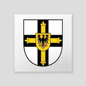 Crusaders Cross - Knights Templar Square Sticker 3