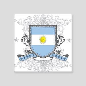 Argentina Shield Square Sticker
