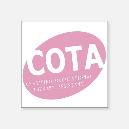COTA Square Sticker