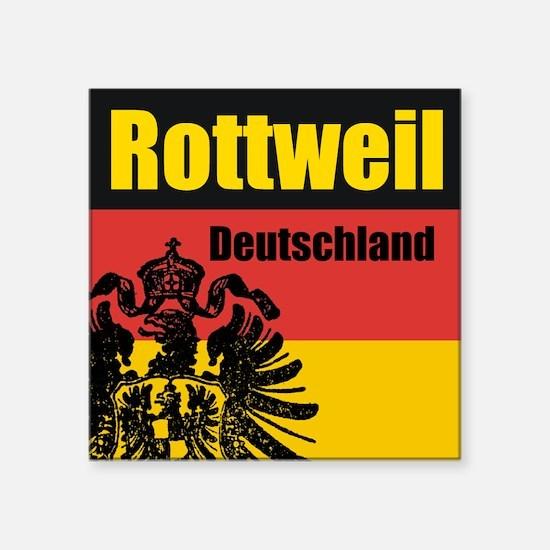 Rottweil Deutschland Square Sticker