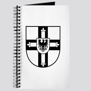 Crusaders Cross - Knights Templar B-W Journal