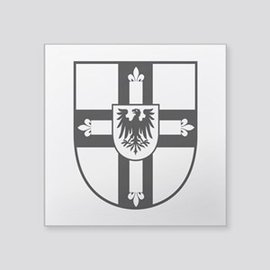 Crusaders Cross - Knights Templar B-W Square Stick