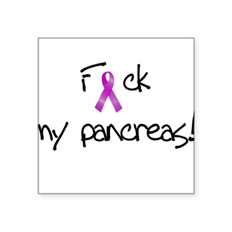 F my pancreas! Square Sticker
