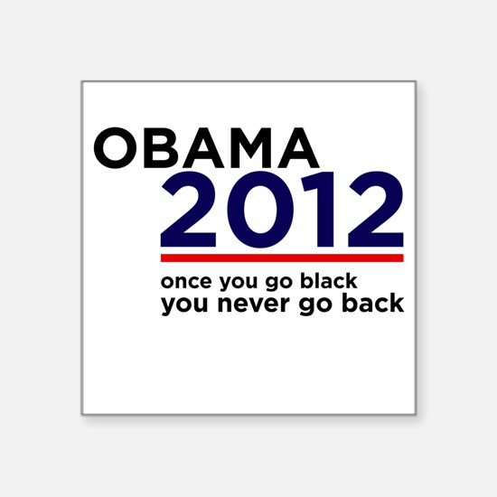 Obama 2012 Square Sticker