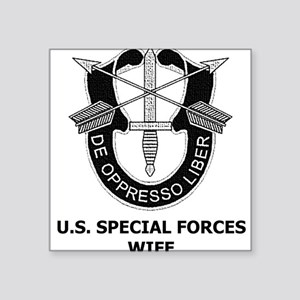 Special Forces Wife Square Sticker