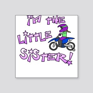 MX Little Sister Baby Square Sticker