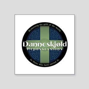 Danneskjold Square Sticker