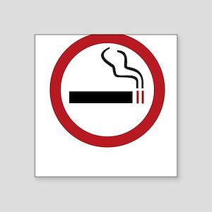 Pro-Smoking Square Sticker