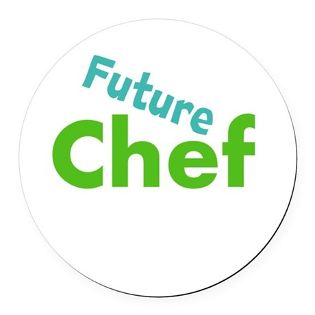 Future Chef Round Car Magnet