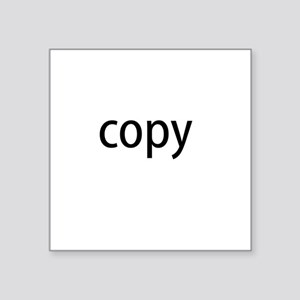 Copy Square Sticker