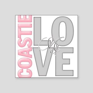 Love my Coastie Square Sticker