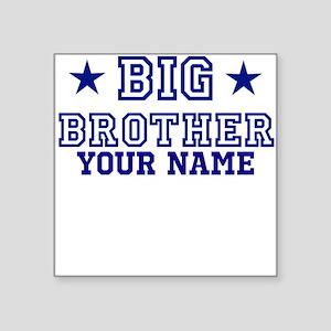 Big Brother Sport Personalize Square Sticker