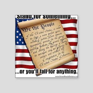 Constitution Square Sticker