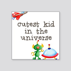 Universe Square Sticker